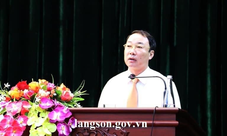 Điều động PCT tỉnh làm Bí thư thành uỷ Lạng Sơn - Ảnh 2.