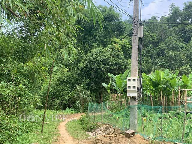Sau phản ánh của Dân Việt: Cột điện gãy gập ở Bắc Kạn được khắc phục - Ảnh 3.