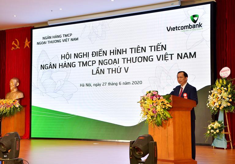 Hội nghị Điển hình tiên tiến Ngân hàng TMCP Ngoại thương Việt Nam lần thứ V - Ảnh 4.