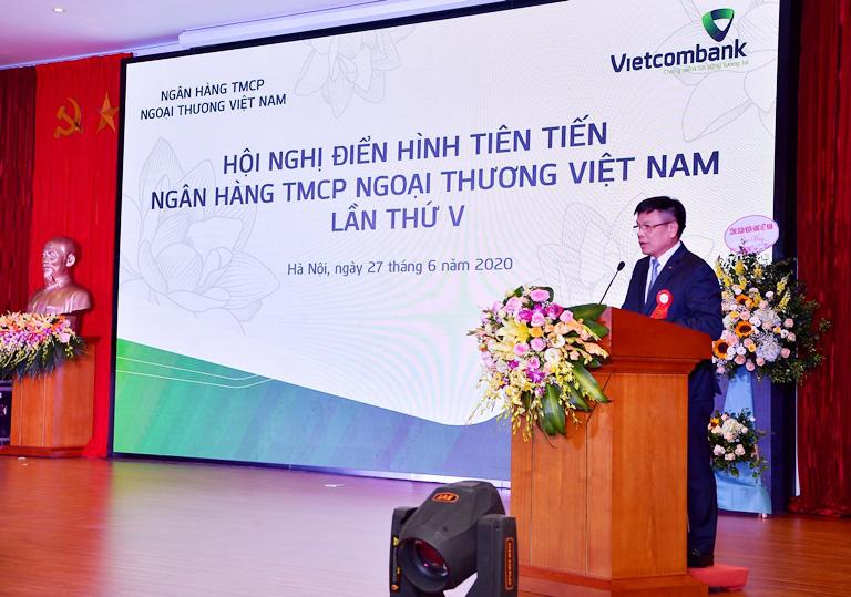 Hội nghị Điển hình tiên tiến Ngân hàng TMCP Ngoại thương Việt Nam lần thứ V - Ảnh 9.