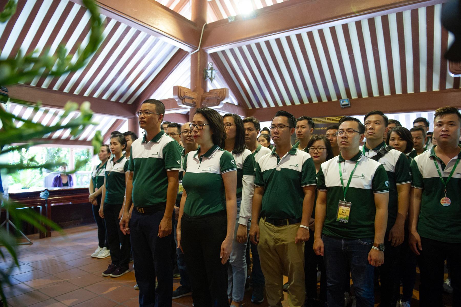 """Hội trại """"Tuổi trẻ Vietcombank – Sắt son niềm tin với Đảng"""" hướng tới chào mừng Đại hội Đảng các cấp - Ảnh 4."""