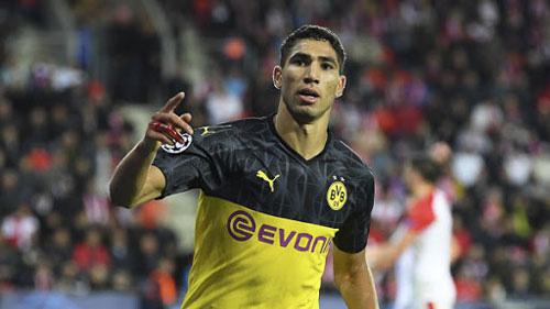 Achraf Hakimi chia tay Dortmund.