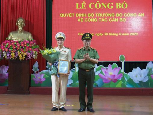 Tướng Nguyễn Ngọc Toàn làm Cục trưởng của Bộ Công an, đại tá Vũ Hồng Quang làm Giám đốc Công an Cao Bằng - Ảnh 2.
