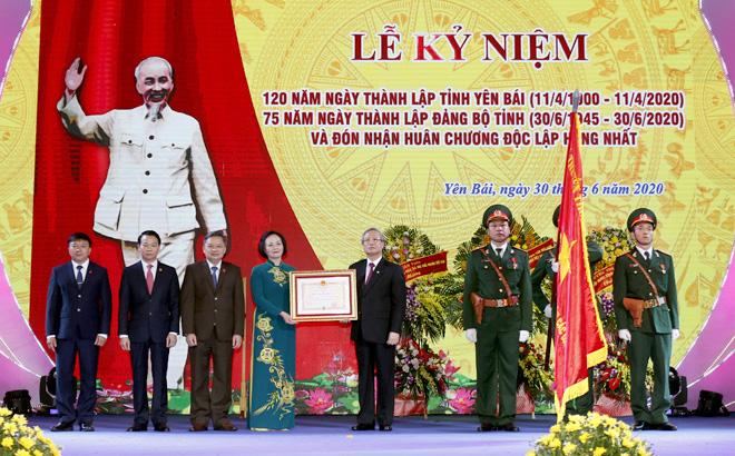 Kỷ niệm 120 năm Ngày thành lập tỉnh, Yên Bái đón nhận Huân chương Độc lập hạng Nhất - Ảnh 4.