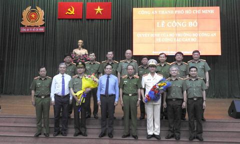 Đại tá Lê Hồng Nam, Tân giám đốc Công an TP.HCM ra mắt - Ảnh 1.