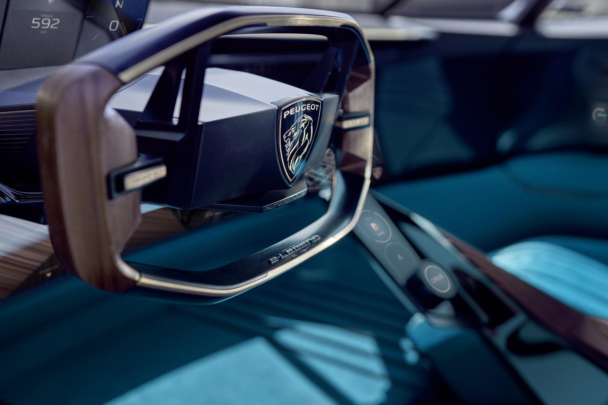 Vô-lăng D-cut: Điểm nhấn thiết kế riêng biệt của Peugeot - Ảnh 4.