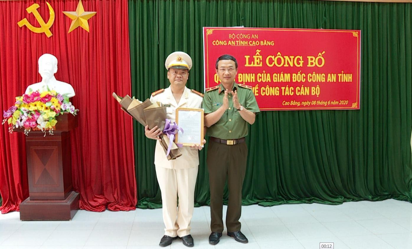 Tướng Nguyễn Ngọc Toàn làm Cục trưởng của Bộ Công an, đại tá Vũ Hồng Quang làm Giám đốc Công an Cao Bằng - Ảnh 1.