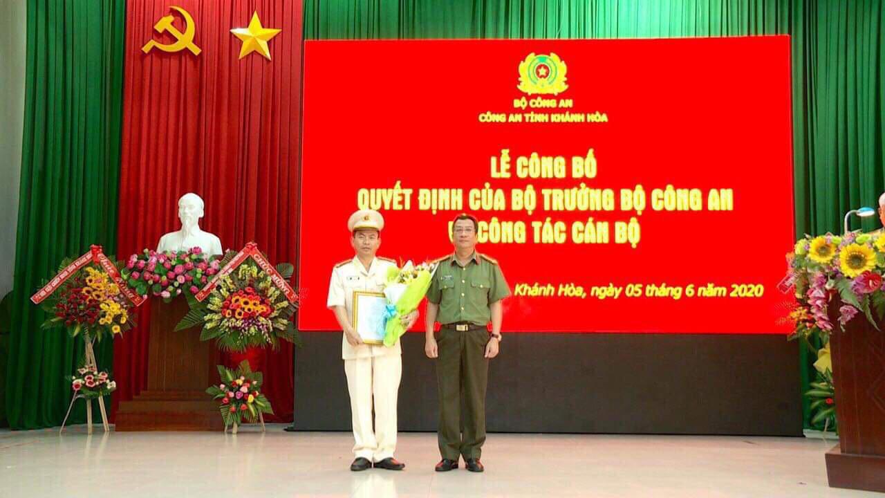 Bộ Công an điều động, bổ nhiệm tân Phó Giám đốc Công an tỉnh Khánh Hòa - Ảnh 1.