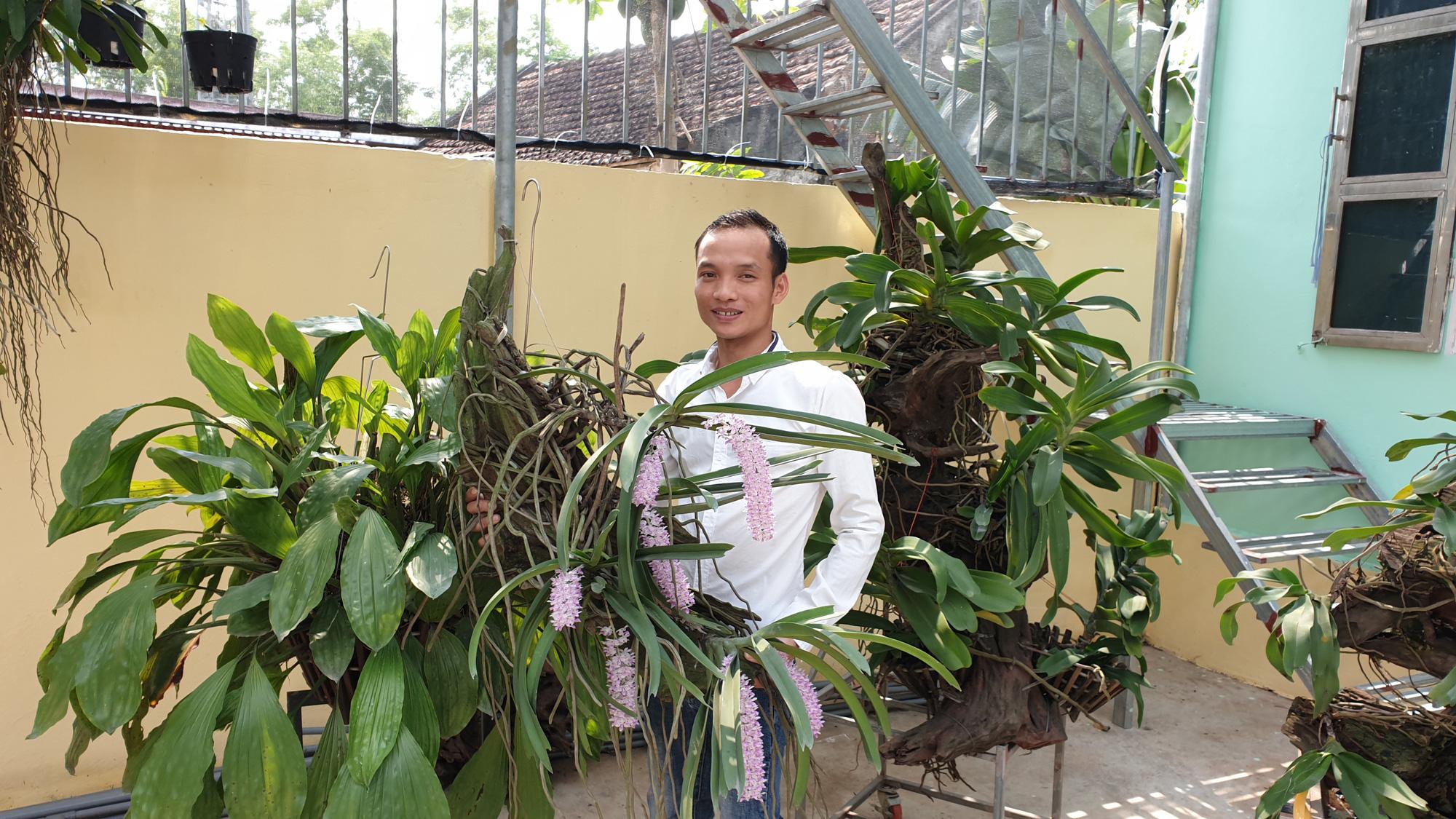 """Nam Định: Từng là dân """"gà mờ"""", không ngờ nay là tay chơi lan rừng có tiếng - Ảnh 1."""
