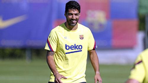 Luis Suarez sẵn sàng ra sân.