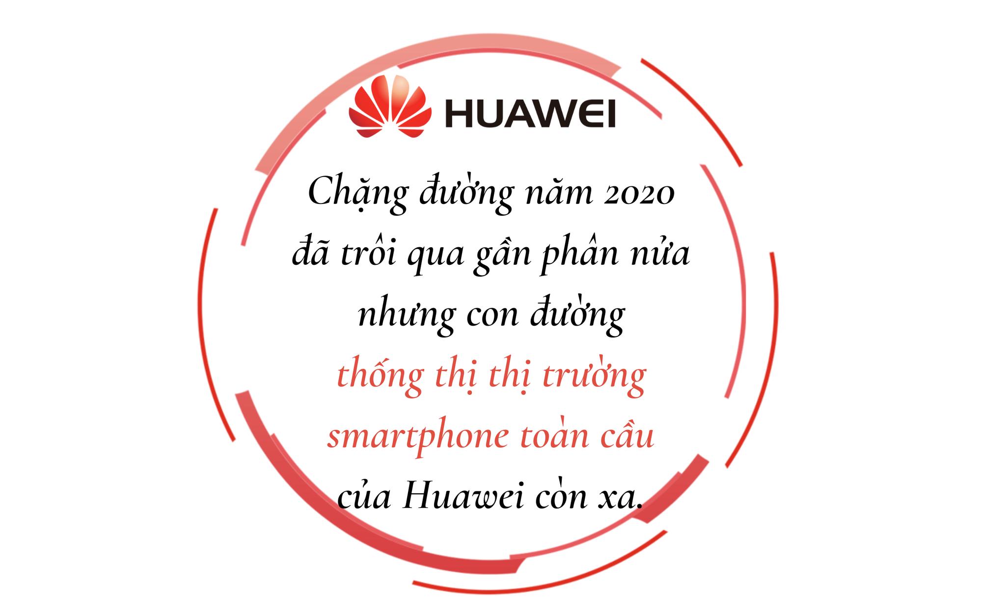 """Huawei muốn thống trị thị trường smartphone toàn cầu như Trump đang """"kết liễu"""" giấc mơ ấy - Ảnh 1."""