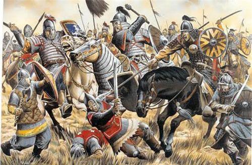 Những trận chiến trên lưng ngựa kinh điển bậc nhất lịch sử nhân loại - Ảnh 1.