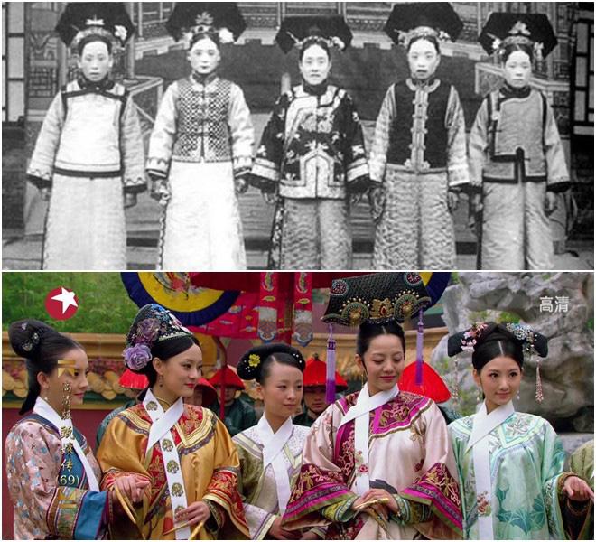 """Nhan sắc cung tần mỹ nữ Trung Quốc xưa """"lột xác"""", khác xa phim cổ trang? - Ảnh 2."""