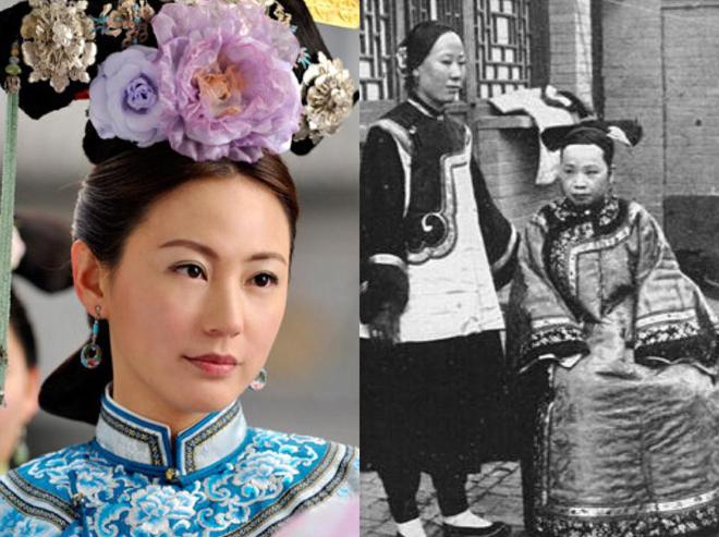 """Nhan sắc cung tần mỹ nữ Trung Quốc xưa """"lột xác"""", khác xa phim cổ trang? - Ảnh 7."""