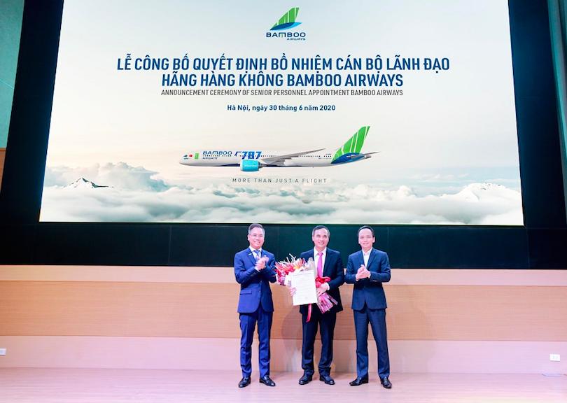 Sếp cũ Hàng không Thiên Minh làm Phó Tổng giám đốc Bamboo Airways - Ảnh 1.