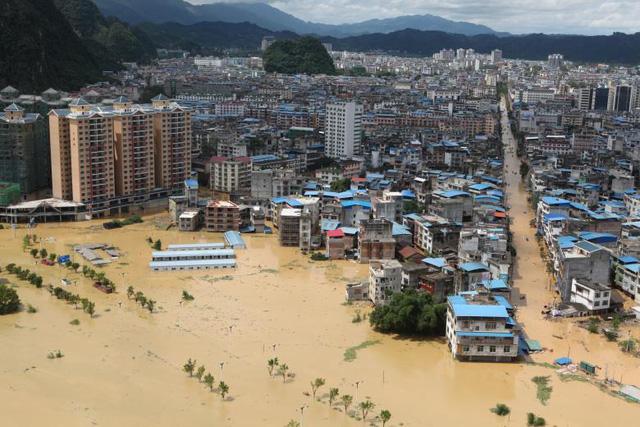 Dải mây gây mưa lũ lịch sử tại Trung Quốc liệu có tác động tới Việt Nam? - Ảnh 1.