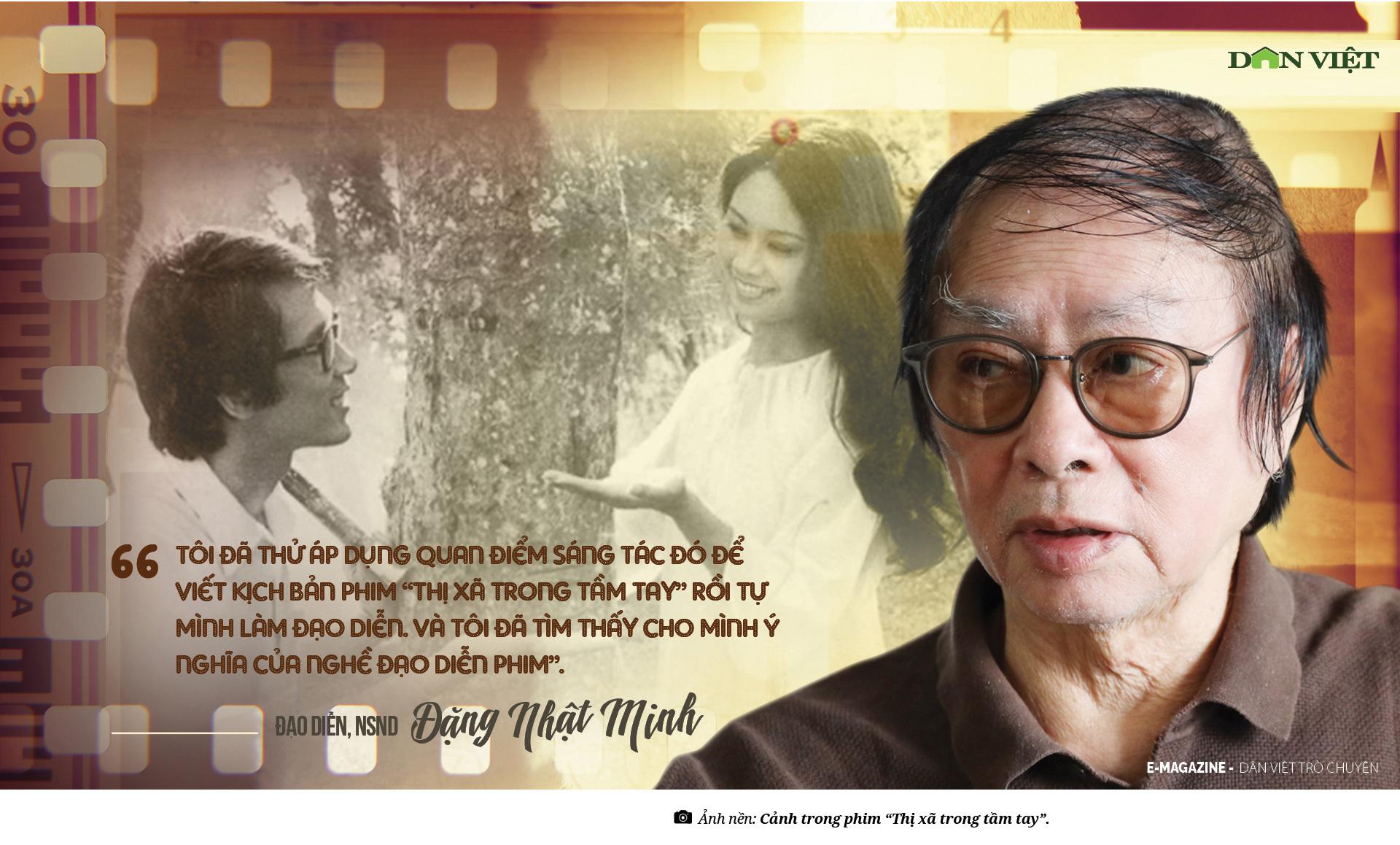 Đạo diễn NSND Đặng Nhật Minh – Nghề đạo diễn là cả một thế giới quan  - Ảnh 8.