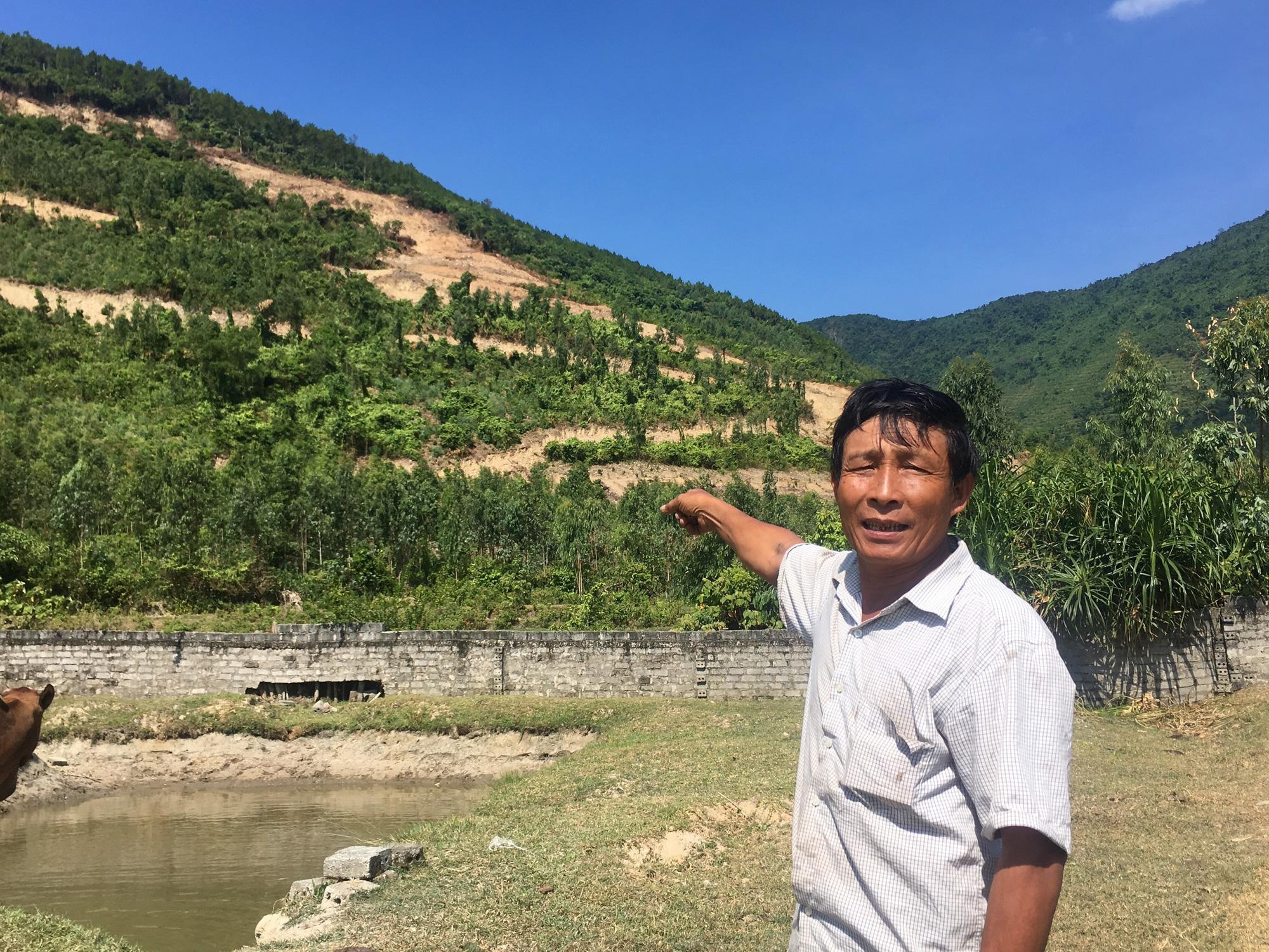 Quảng Bình: Dân nơm nớp lo sợ khi mỏ đá khe Lau đi vào hoạt động  - Ảnh 1.
