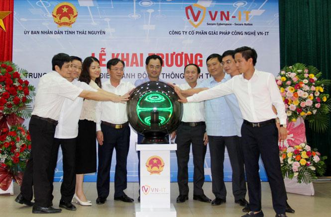 Thái Nguyên: Khai trương Trung tâm Giám sát điều hành đô thị thông minh - Ảnh 1.