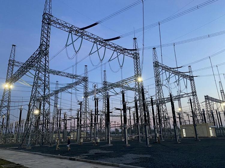 Dự án NMNĐ Sông Hậu 1: Đóng điện thành công nhiều công trình quan trọng - Ảnh 2.
