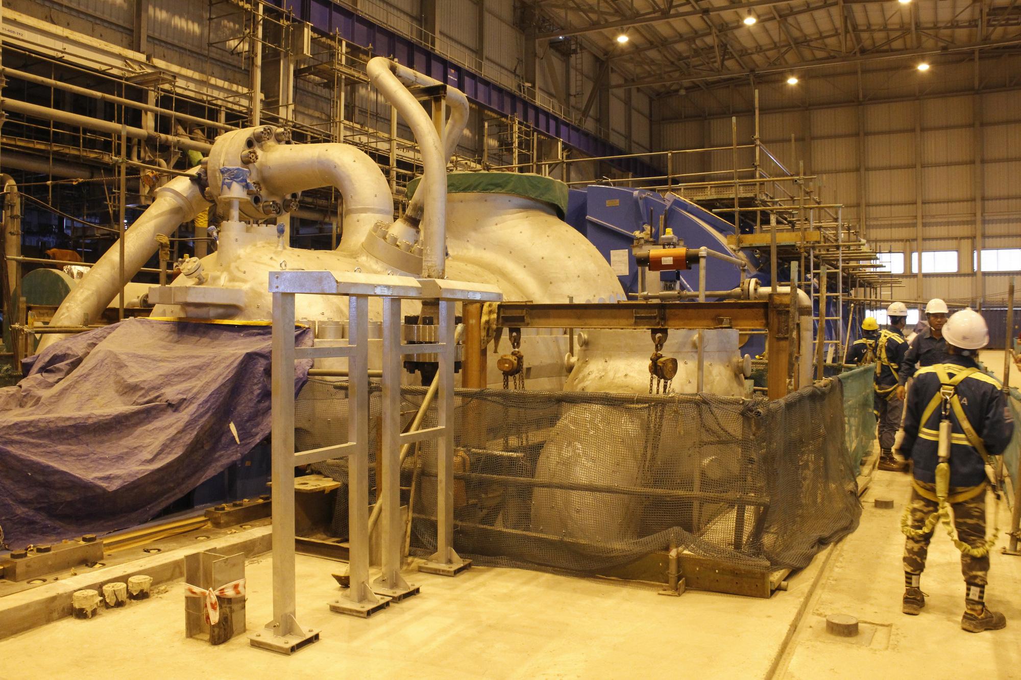Dự án NMNĐ Sông Hậu 1: Đóng điện thành công nhiều công trình quan trọng - Ảnh 3.