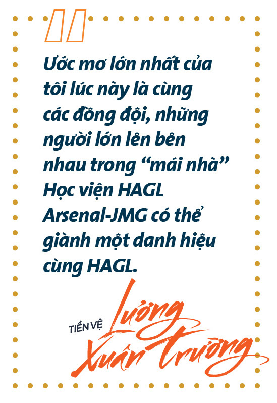 """Tiền vệ Lương Xuân Trường: """"Tôi muốn sống đẹp trong từng khoảnh khắc"""" - Ảnh 2."""
