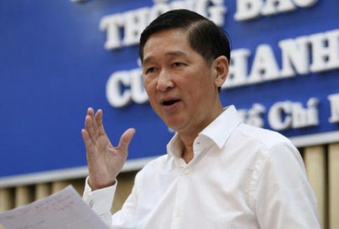Trước khi bị khởi tố, ông Trần Vĩnh Tuyến có lịch làm việc dày đặc - Ảnh 1.