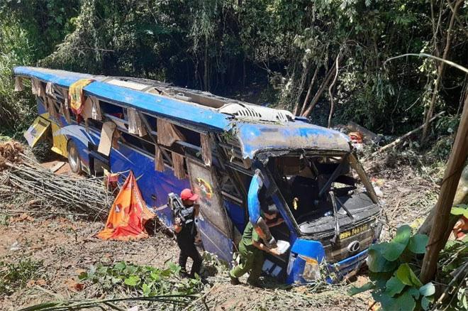 Vụ tai nạn thảm khốc ở Kon Tum: Có kết quả kiểm tra nồng độ cồn và ma túy - Ảnh 1.
