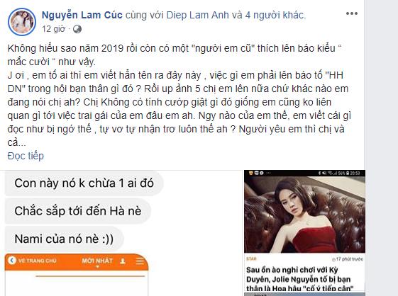 """Hoa hậu Jolie Nguyễn từng có phát ngôn gây sốc, cố tình bịa đặt chuyện Kỳ Duyên """"giật bồ"""" - Ảnh 5."""