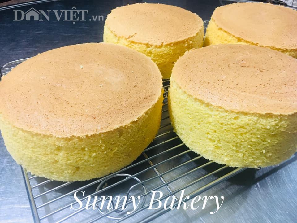 Cách làm bánh bông lan cam vàng ngon lành cho bữa sáng - Ảnh 3.