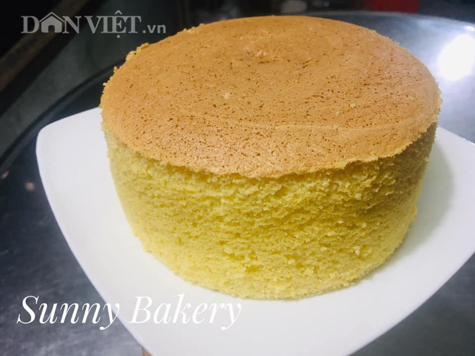 Cách làm bánh bông lan cam vàng ngon lành cho bữa sáng - Ảnh 2.