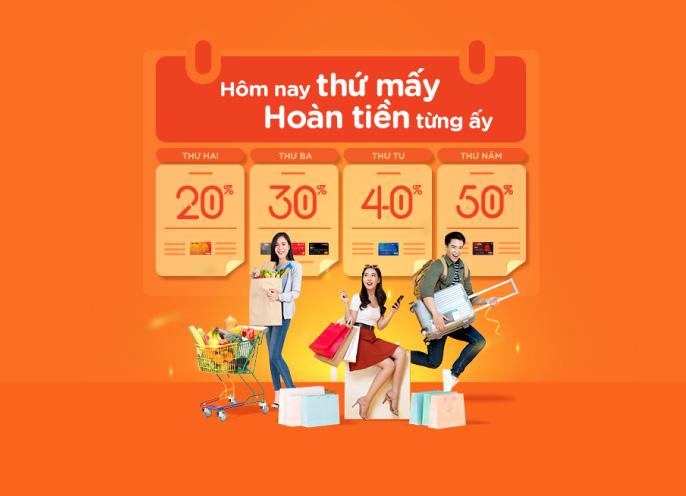 Hoàn tiền tới 50% các ngày trong tuần với thẻ quốc tế MSB - Ảnh 1.