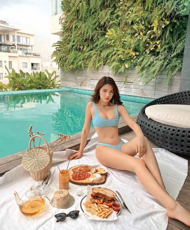 """Hoa hậu người Việt tại Úc Jolie Nguyễn gây """"bỏng mắt"""" mỗi lần mặc bikini quyến rũ - Ảnh 8."""