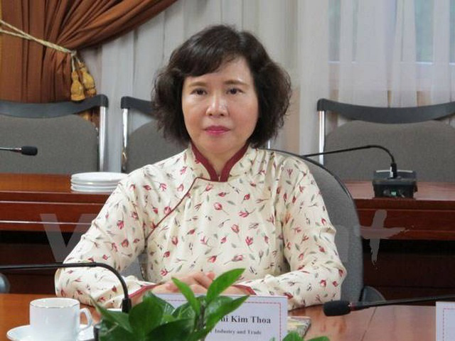 Cựu Thứ trưởng Hồ Thị Kim Thoa bị truy nã - Ảnh 1.