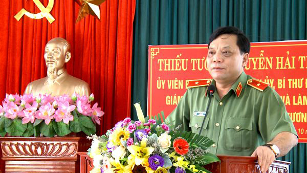 Ban Bí thư chuẩn y Thiếu tướng Nguyễn Hải Trung giữ chức vụ mới - Ảnh 1.