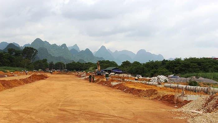 Cao Bằng: Hơn 100 tỷ đầu tư xây cầu đường bộ Tà Lùng - Thủy Khẩu - Ảnh 1.