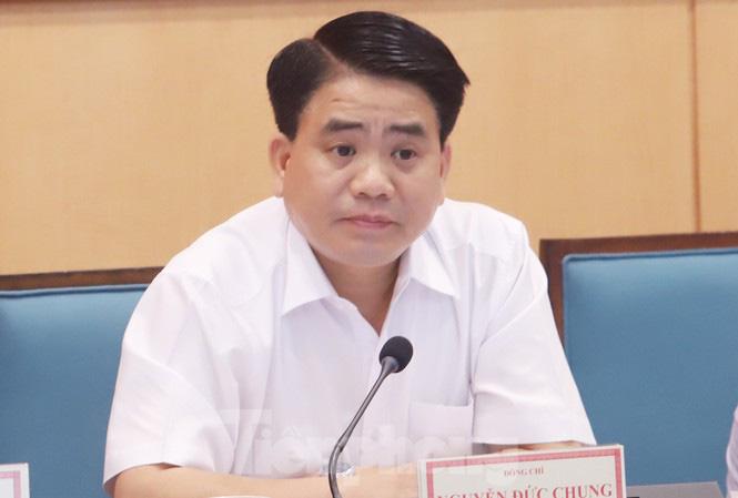 Chủ tịch Hà Nội Nguyễn Đức Chung nói về việc chuyển  9 sở về Khu liên cơ Võ Chí Công - Ảnh 1.
