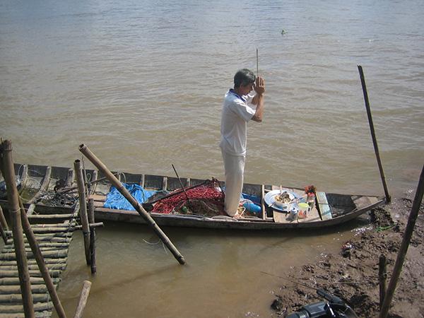 """Huyền thoại về loài """"cá nược thiêng"""" trên sông Mê Kông - Ảnh 4."""