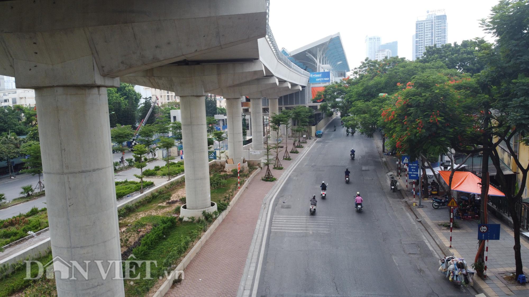 Toàn cảnh tuyến đường sắt trên cao bị đòi bồi thuờng hàng trăm tỷ đồng - Ảnh 9.