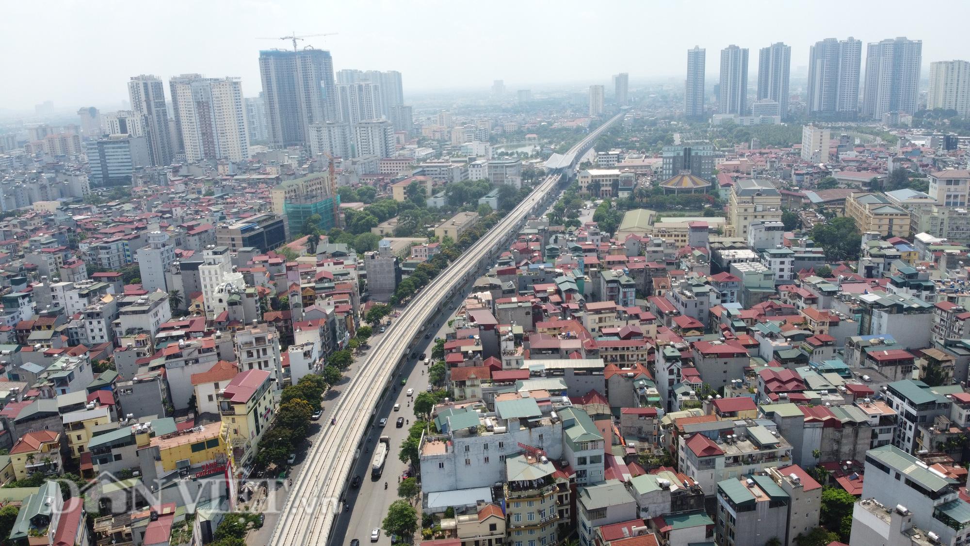 Toàn cảnh tuyến đường sắt trên cao bị đòi bồi thuờng hàng trăm tỷ đồng - Ảnh 2.
