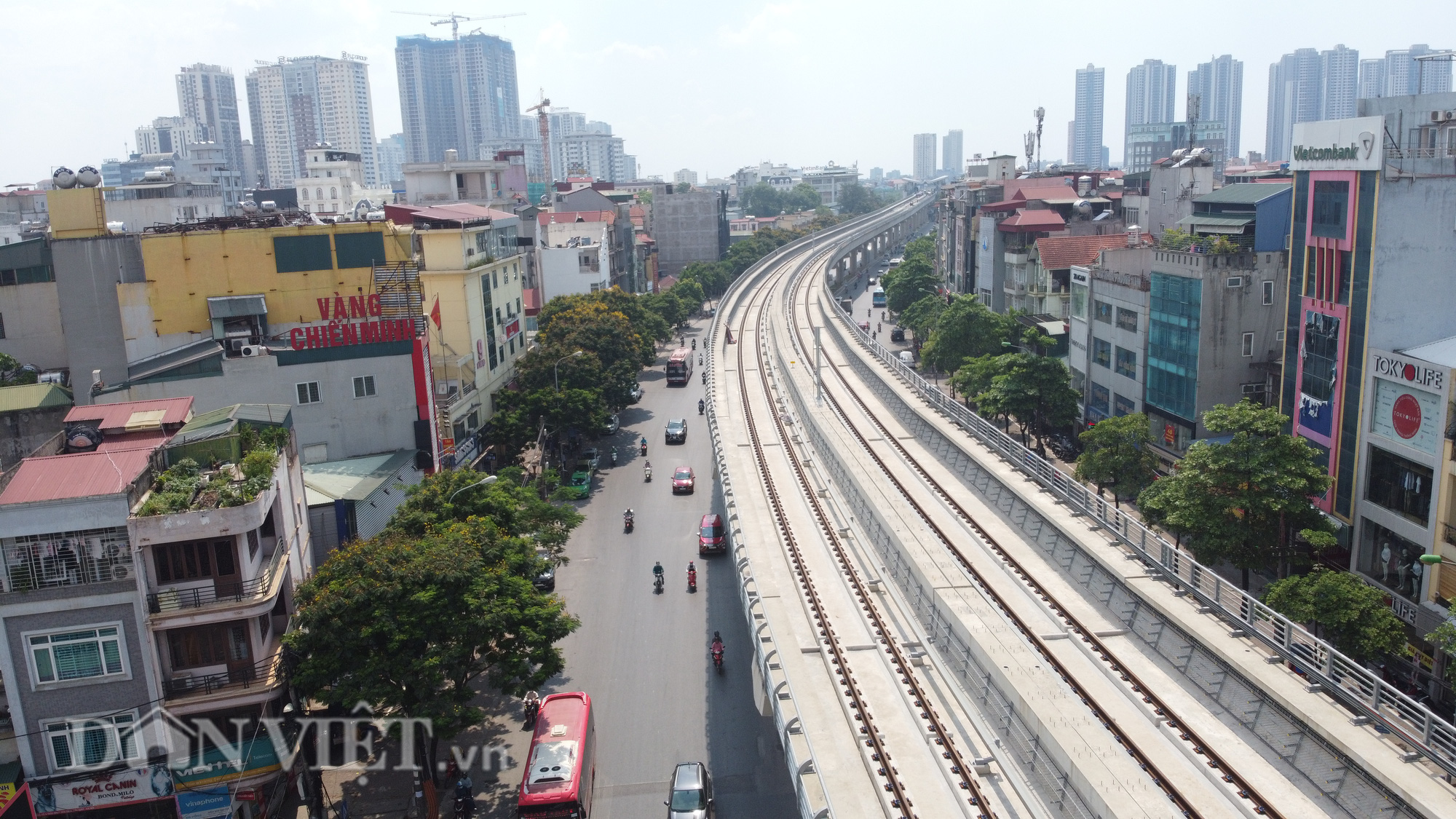 Toàn cảnh tuyến đường sắt trên cao bị đòi bồi thuờng hàng trăm tỷ đồng - Ảnh 3.