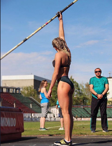 """Xuất hiện """"Sharapova mới"""" của làng thể thao Nga - Ảnh 2."""