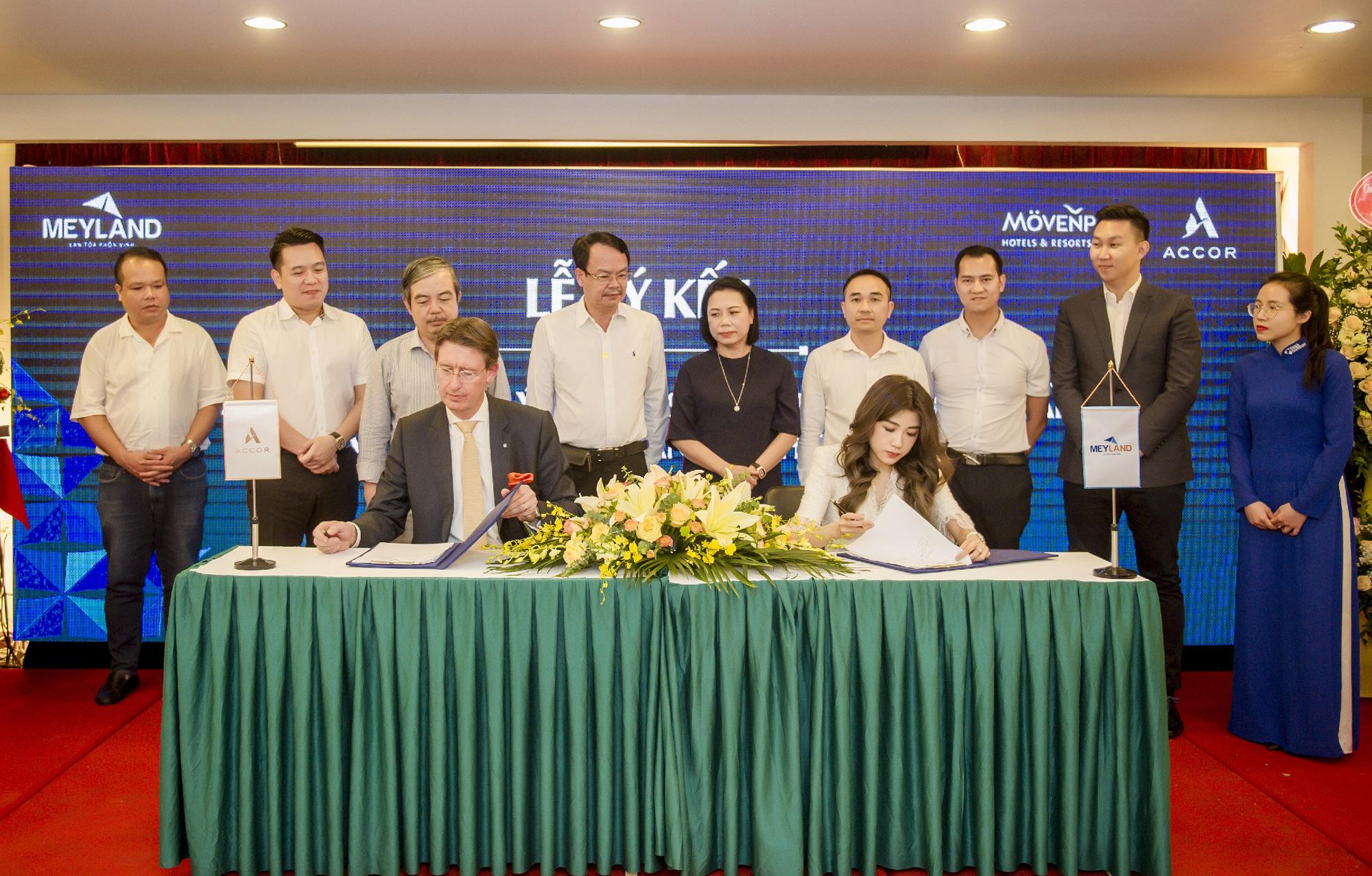 Tập đoàn Tân Á Đại Thành – Meyland ký hợp tác với Tập đoàn Accor - Ảnh 1.