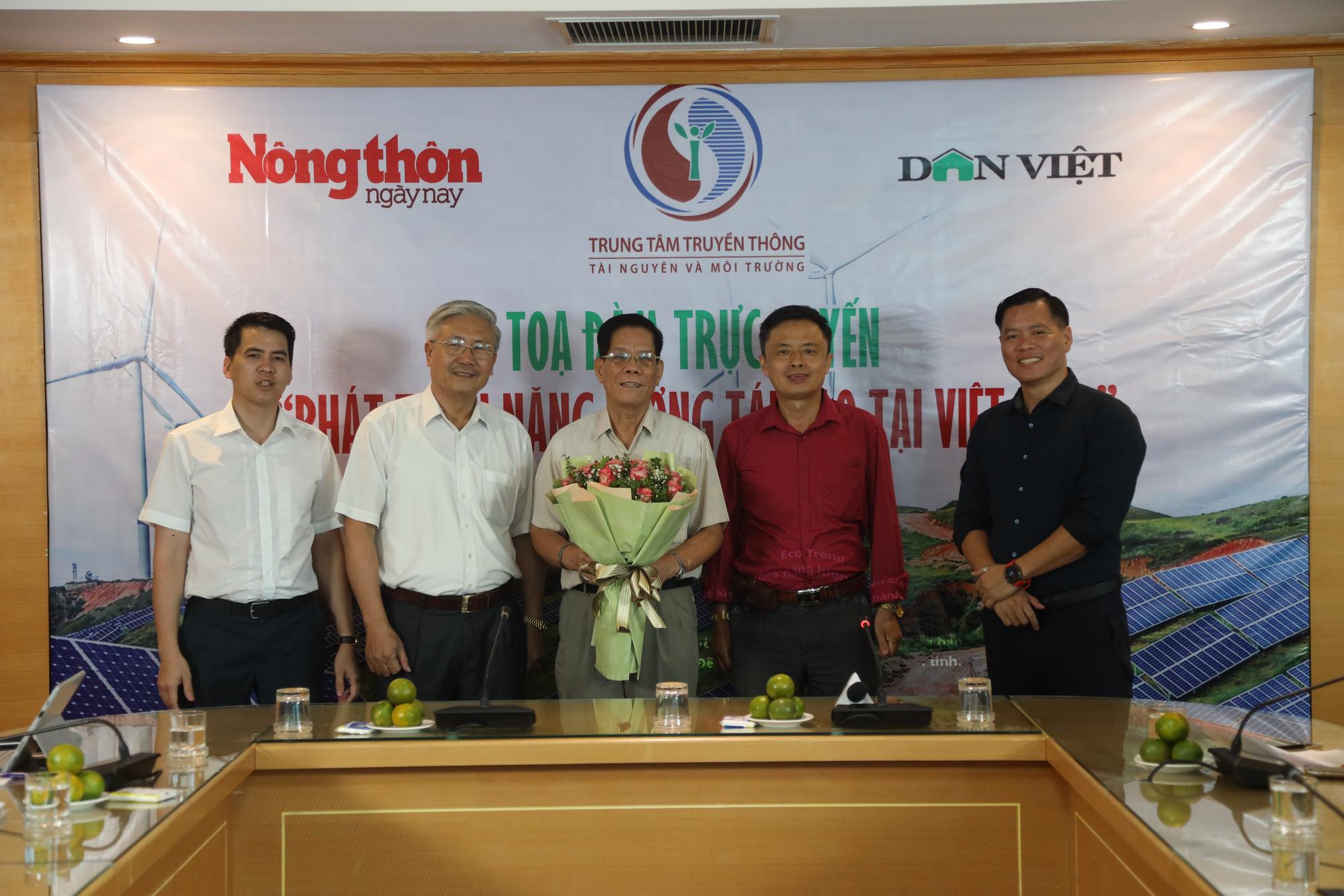 """Tọa đàm trực tuyến """"Phát triển năng lượng tái tạo tại Việt Nam"""": Không thể xem nhẹ vai trò của Nhà nước - Ảnh 1."""