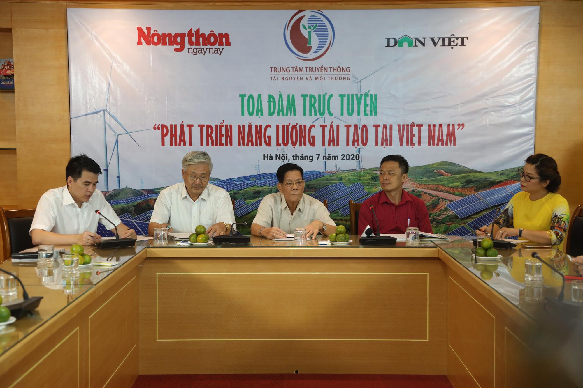 """Tọa đàm trực tuyến """"Phát triển năng lượng tái tạo tại Việt Nam"""": Không thể xem nhẹ vai trò của Nhà nước - Ảnh 3."""