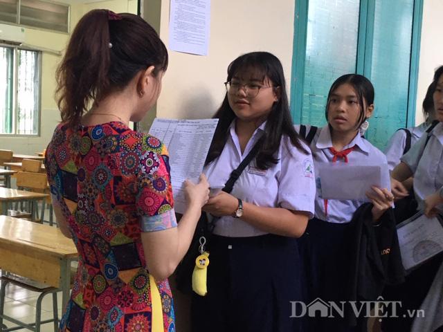 Sáng 16/7: Hơn 82.000 thí sinh thi lớp 10 công lập tại TP.HCM - Ảnh 3.