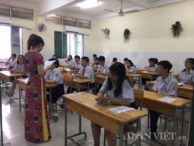 Sáng 16/7: Hơn 82.000 thí sinh thi lớp 10 công lập tại TP.HCM - Ảnh 4.
