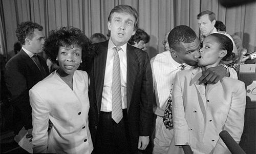 Sự thật việc vợ Mike Tyson ngoại tình với Donald Trump - Ảnh 1.