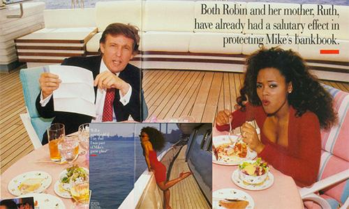 Sự thật việc vợ Mike Tyson ngoại tình với Donald Trump - Ảnh 2.