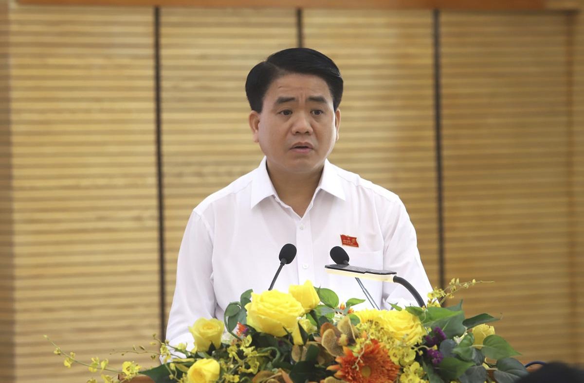 Từ thống nhất quan điểm xử lý vụ Nhật Cường đến tạm đình chỉ Chủ tịch Hà Nội Nguyễn Đức Chung - Ảnh 1.